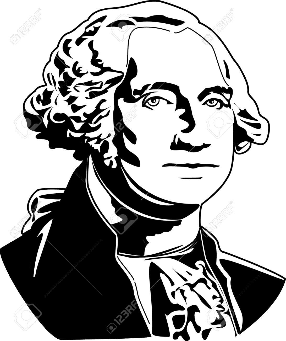 George Washington Silhouette Clipart 10 Free Cliparts