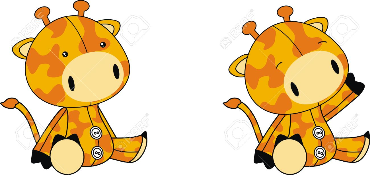 Giraffe Plush Toy Clipart Clipground