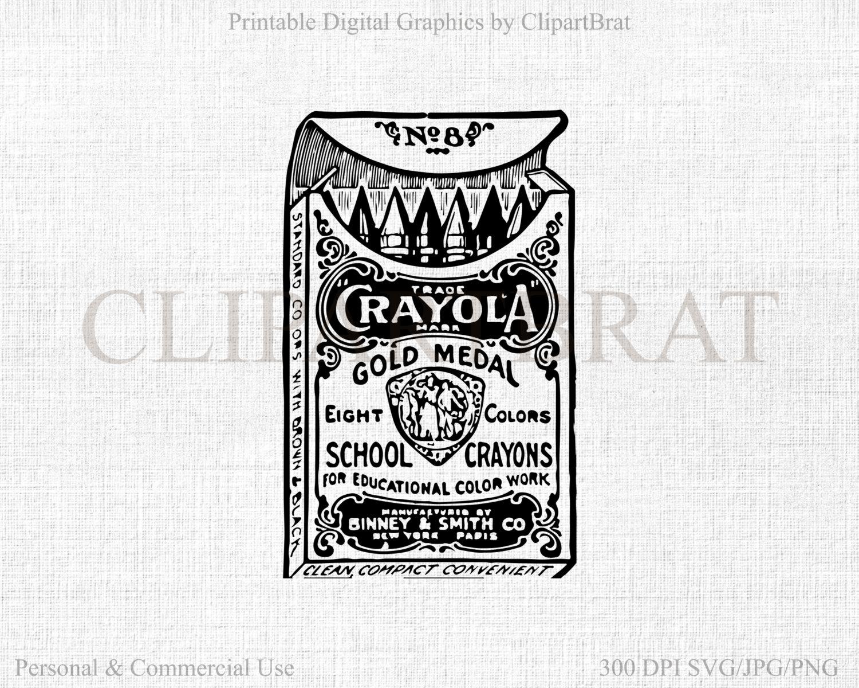 Gray Color Crayon Clipart