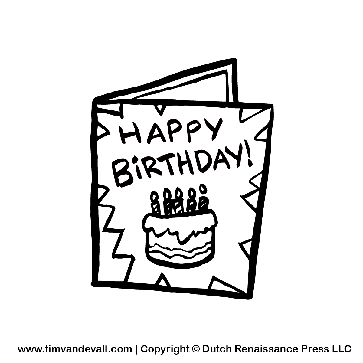 Greetings Card Clipart