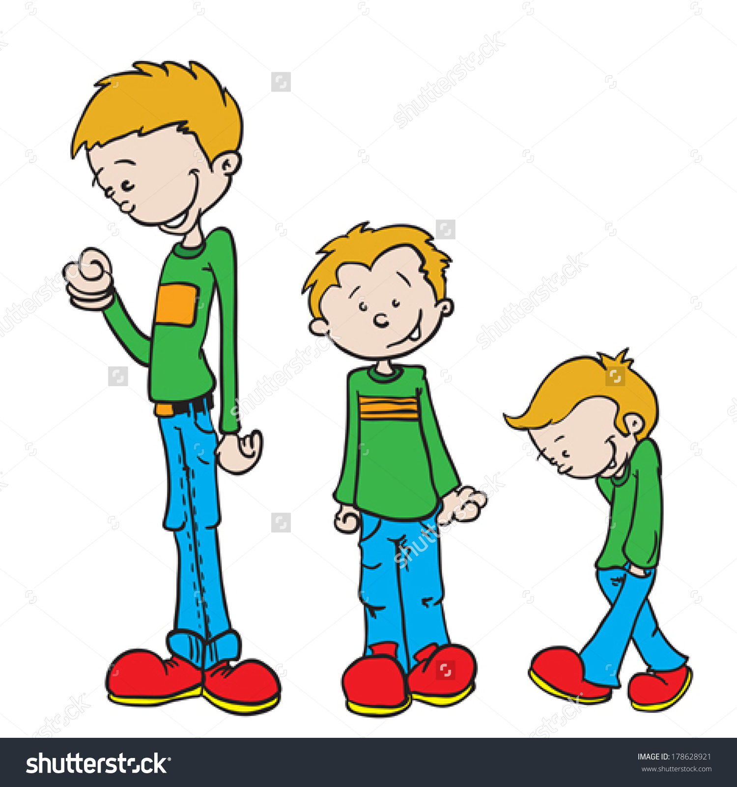 Short And Timid Boy Clipart 20 Free Cliparts