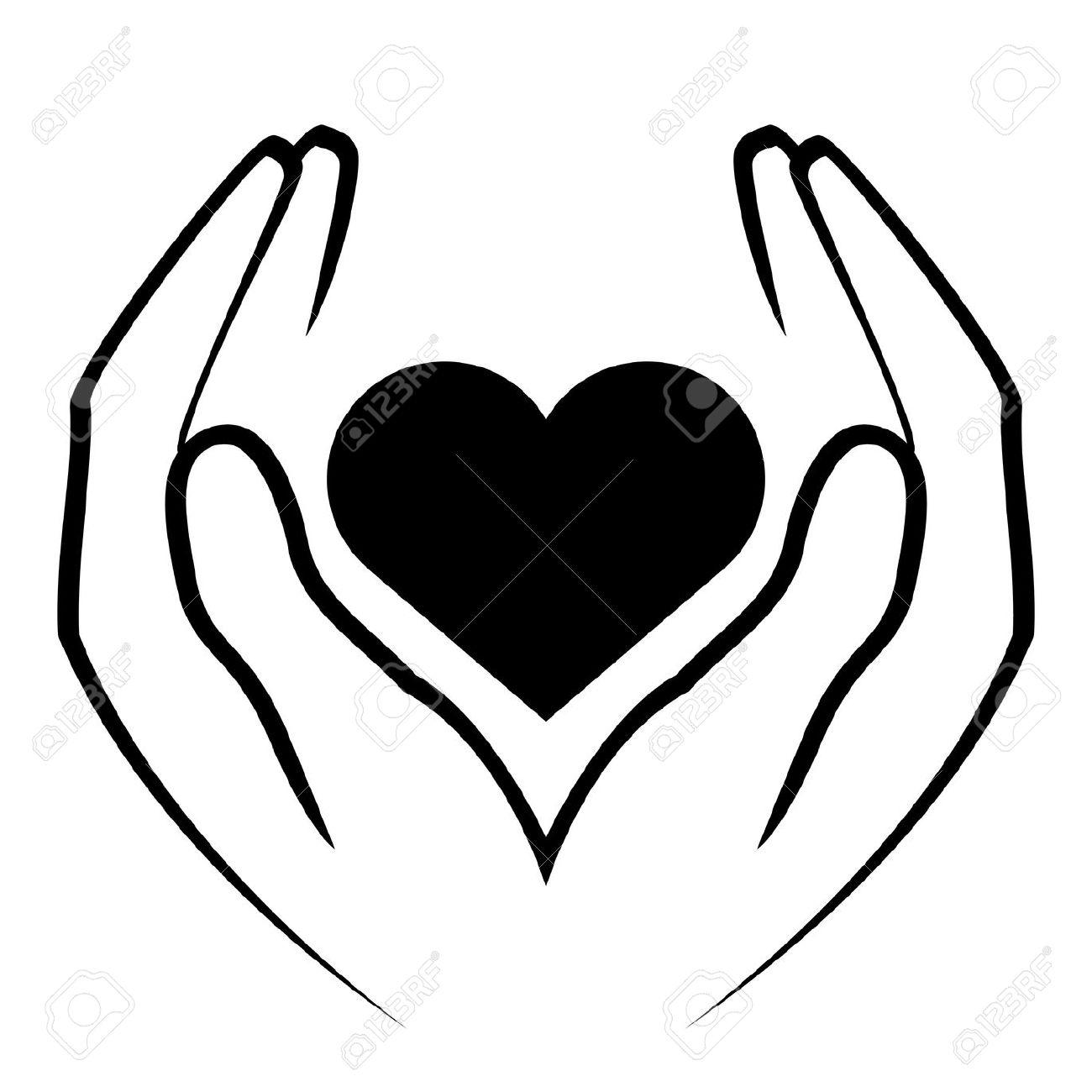 Hands Heart Clipart