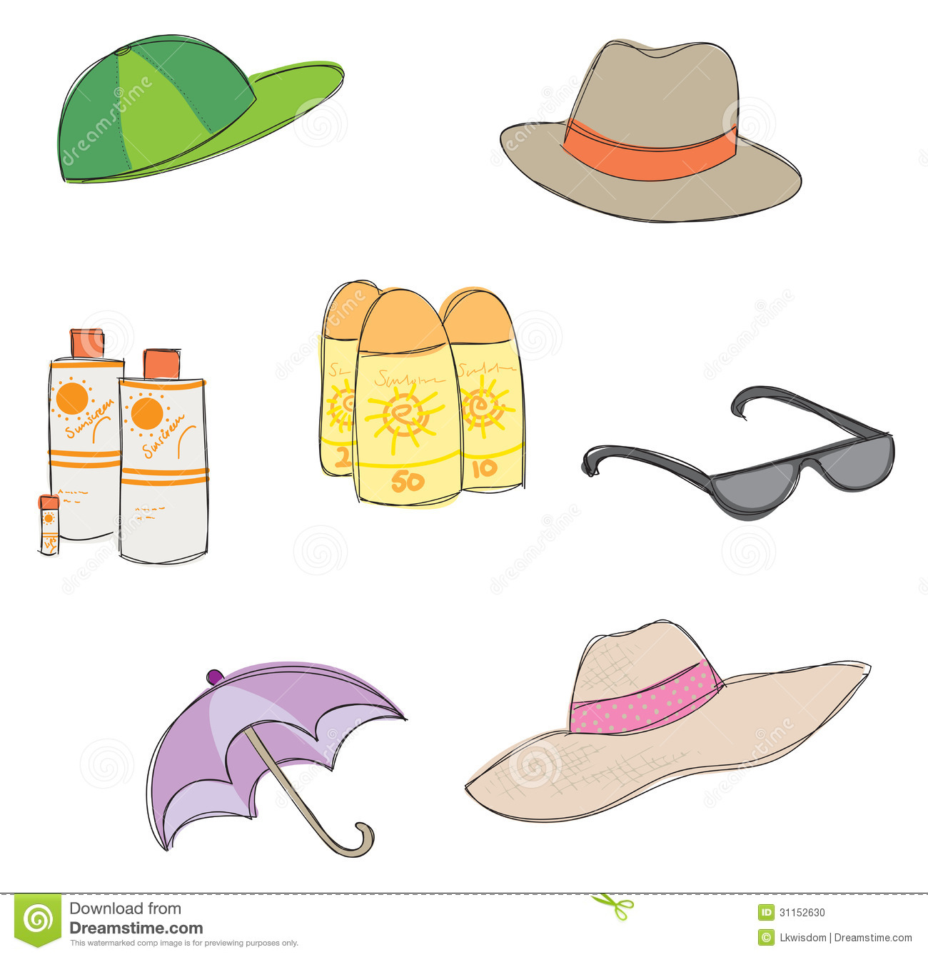 Sunprotection Clipart 20 Free Cliparts