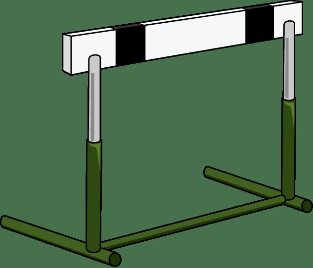 Hurdle Clipart Clipground