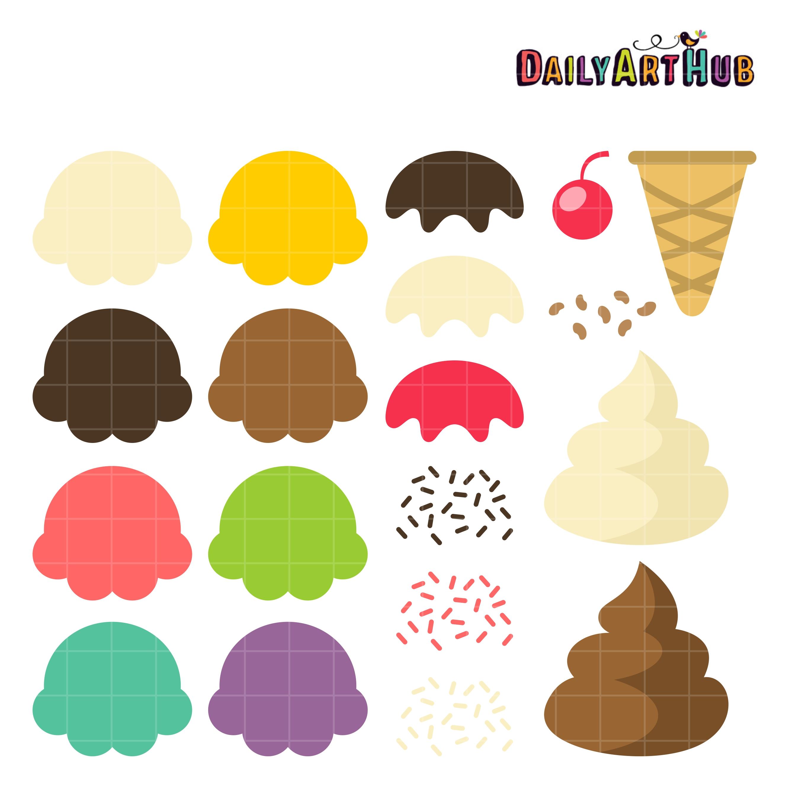 Ice Cream Clip Art 10 Free Cliparts