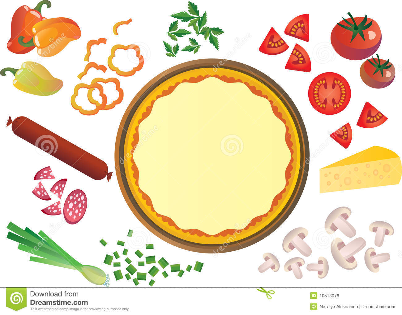 Pizza Toppings Clipart 20 Free Cliparts