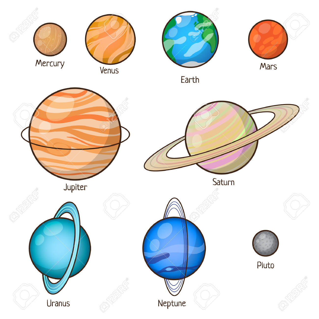 Inner Planets Clipart 20 Free Cliparts
