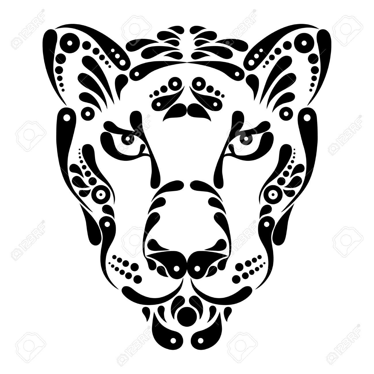 Jaguar Face Clipart