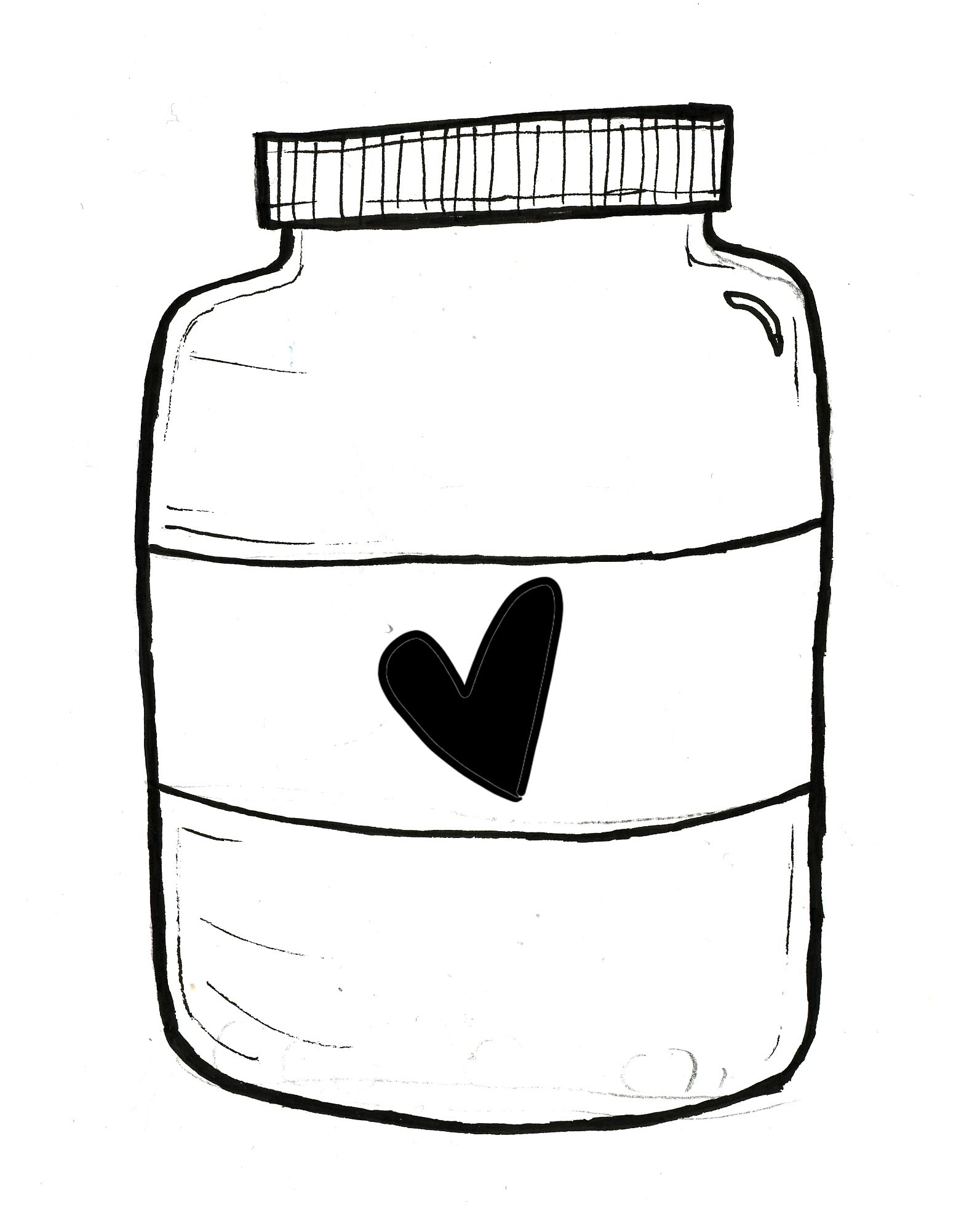 Mystery Baby Food Jar Clipart