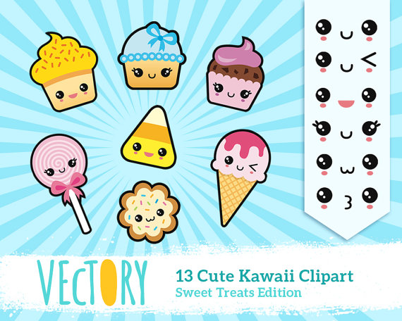 Hd wallpapers and background images kawaii clipart food - Clipground