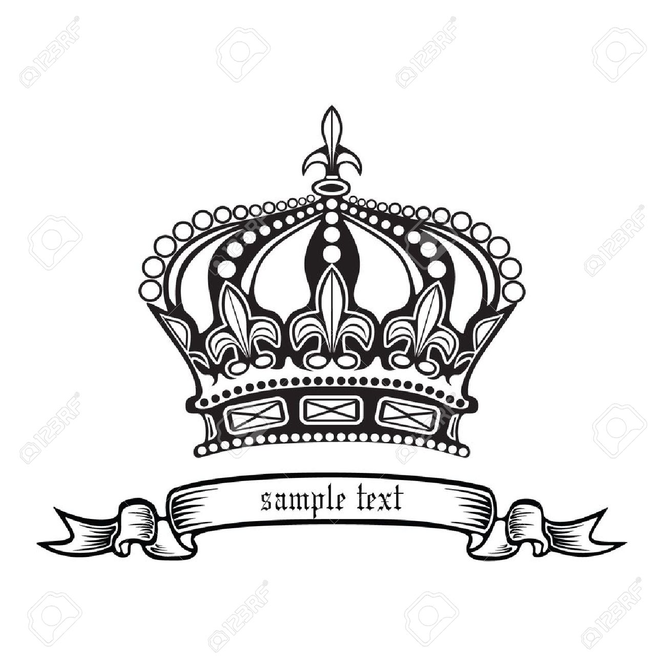 King And Queen Crowns Together Clipart 20 Free Cliparts