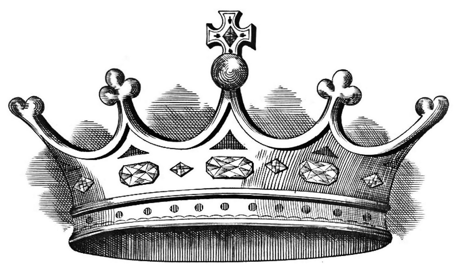 Kings Crown Clipart Black And White