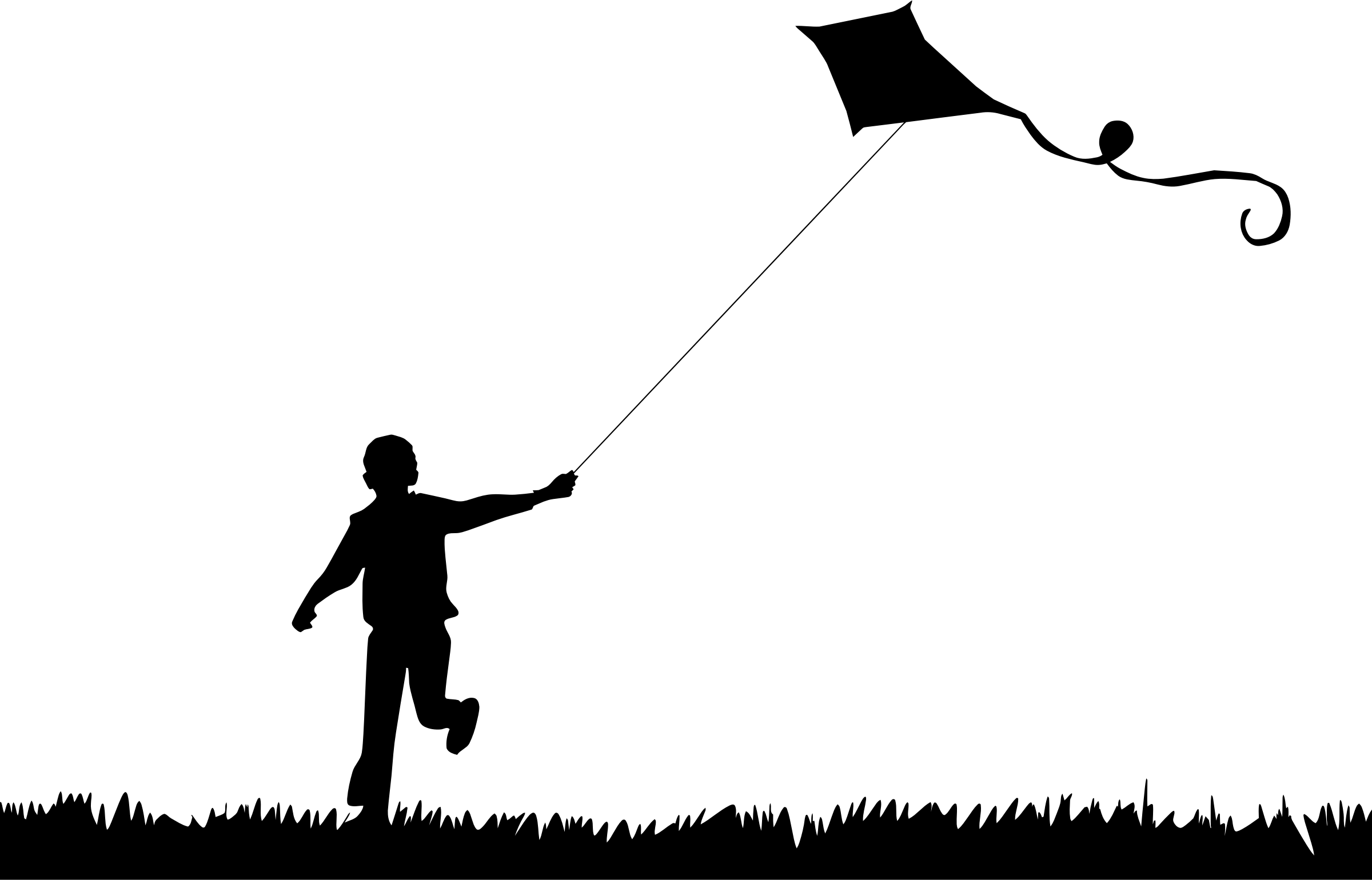 Kite Silhouette Clipart 20 Free Cliparts