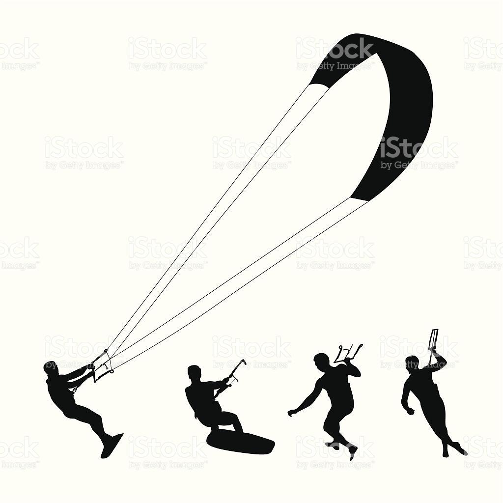 Kitesurf Clipart