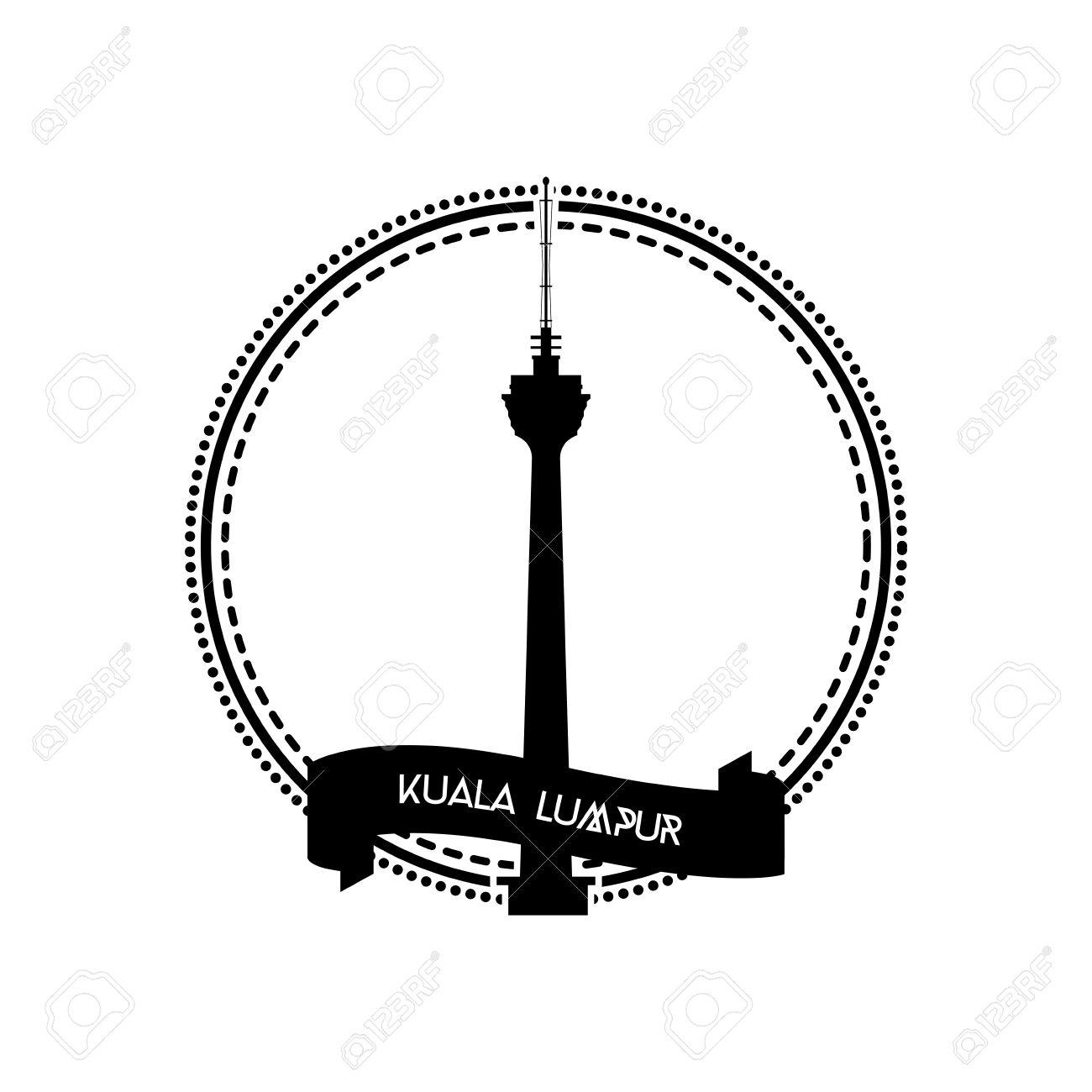 Klcc Tower Clipart