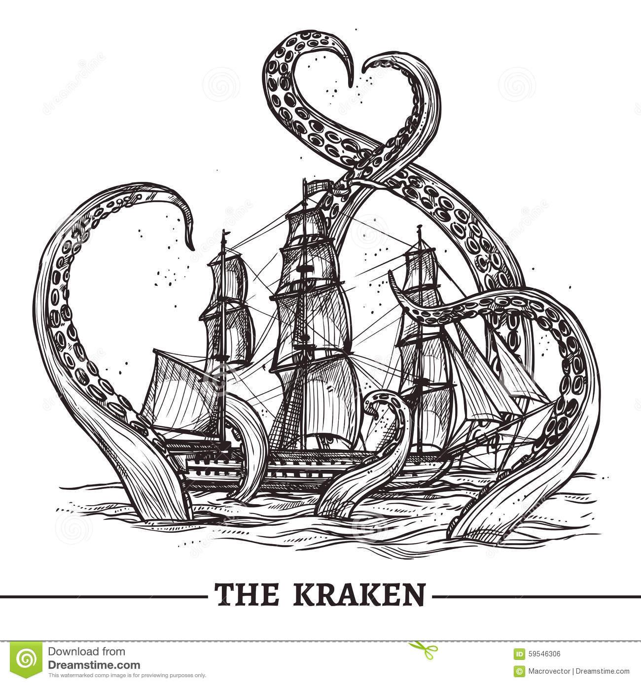 Kraken Clipart