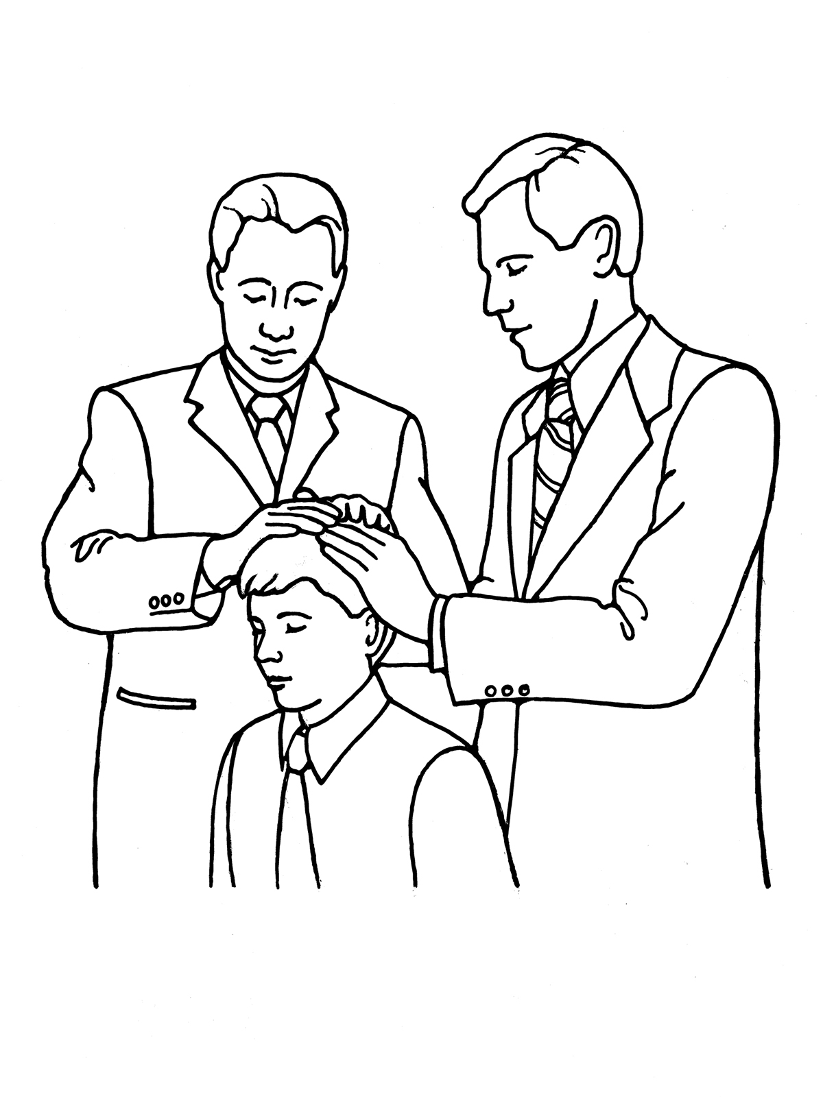 Lds Priesthood Blessing Clipart 20 Free Cliparts