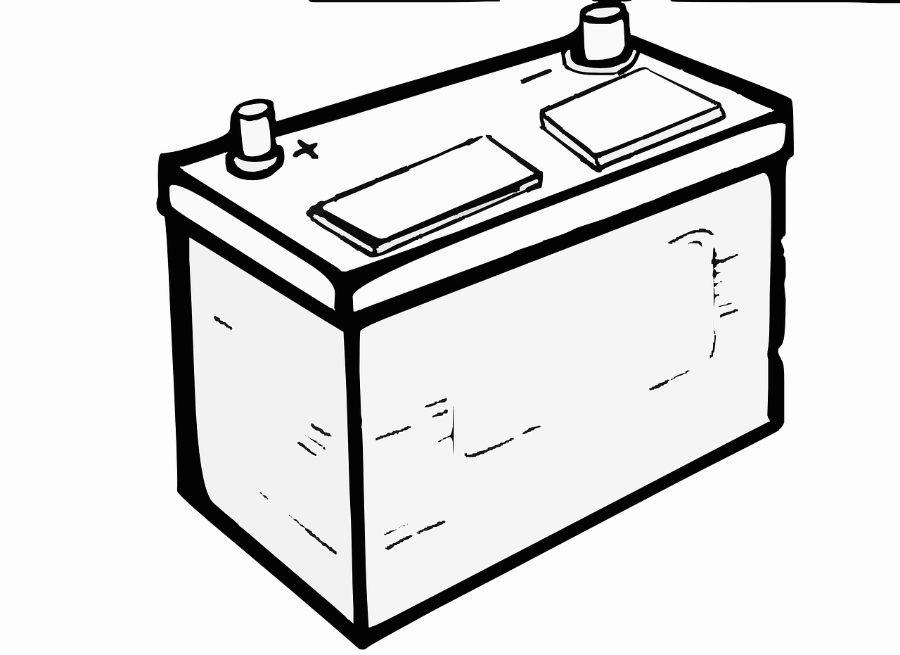 Lead Battery Clipart