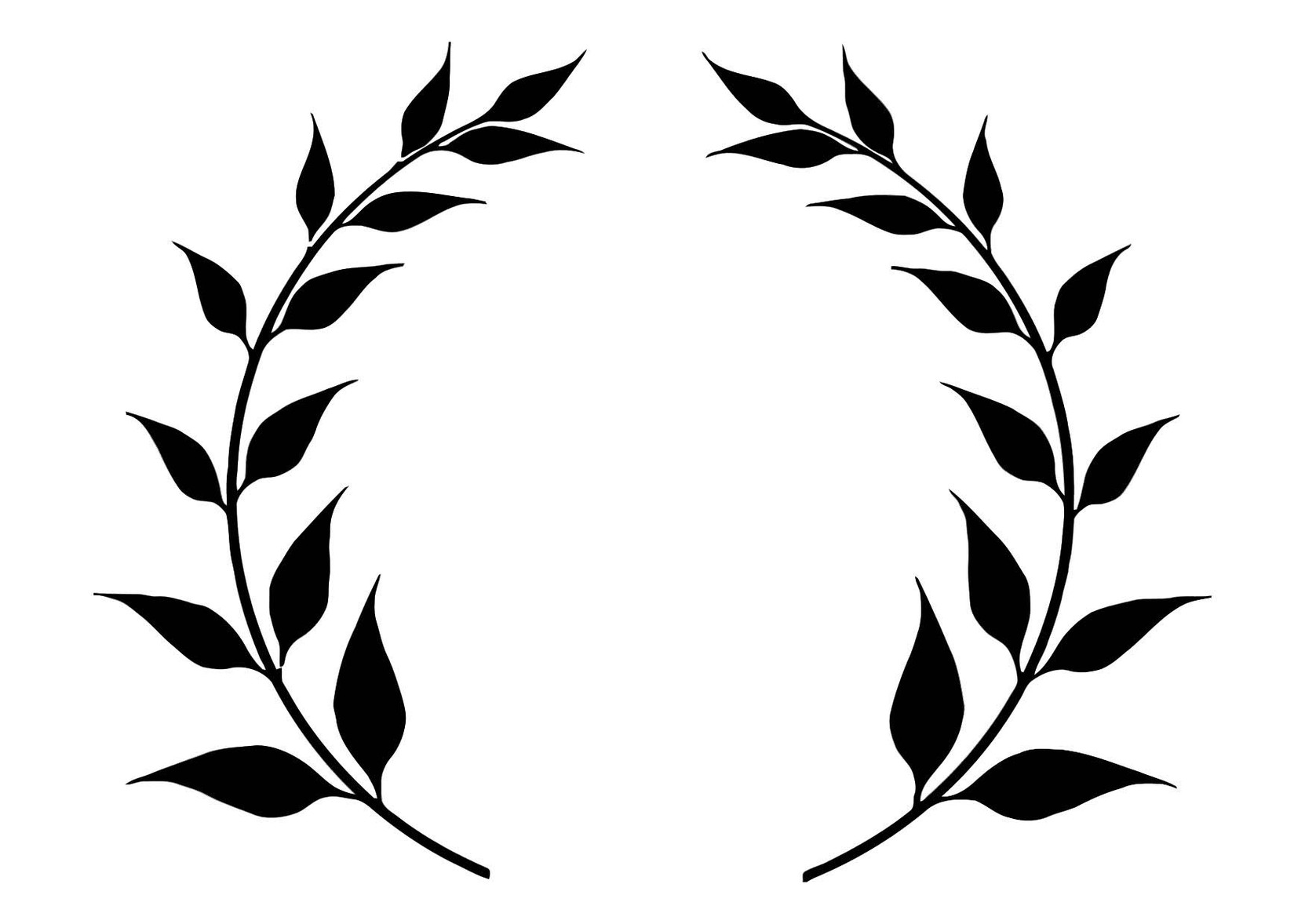 Leaf Crowns Clipart
