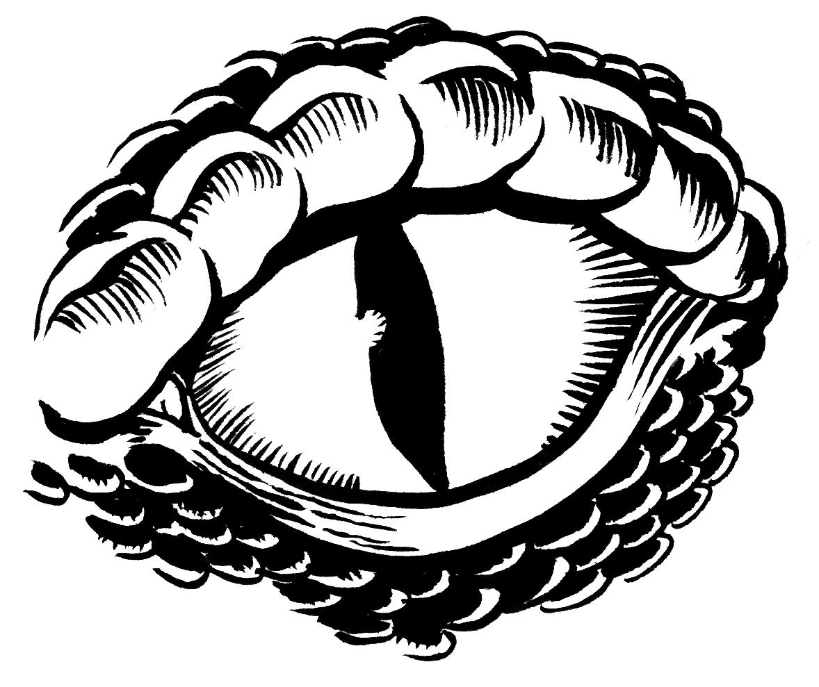 Lizard Eyes Clipart