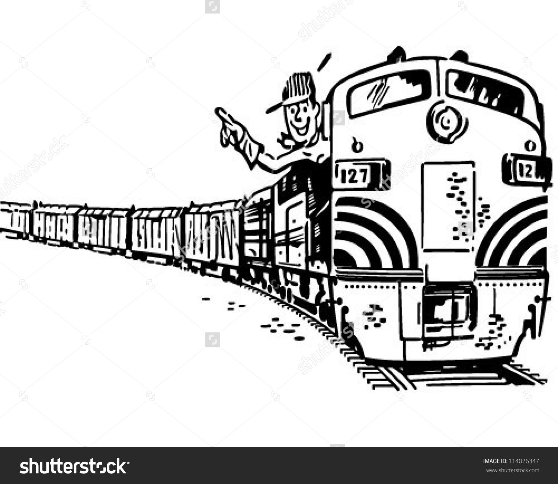 Locomotives Clipart
