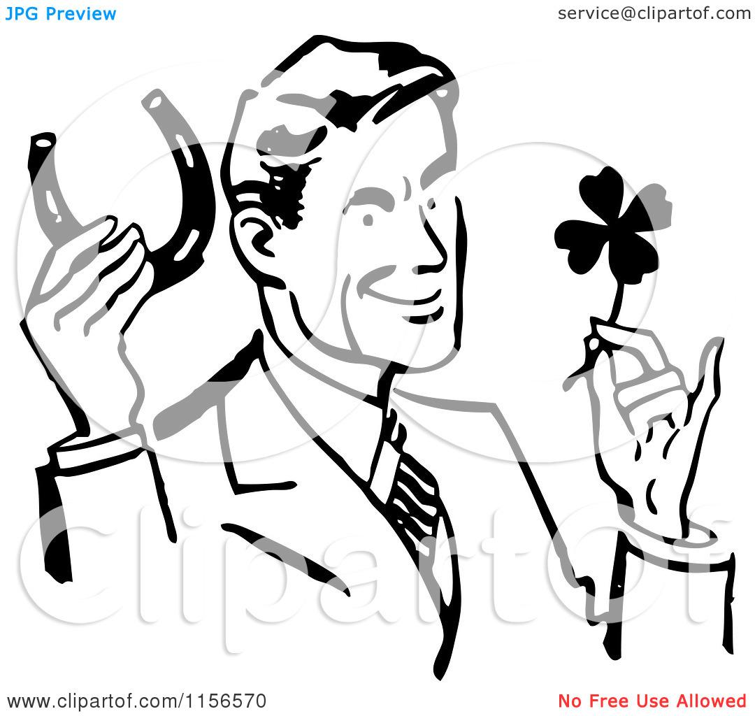 Lucky Guy Clipart