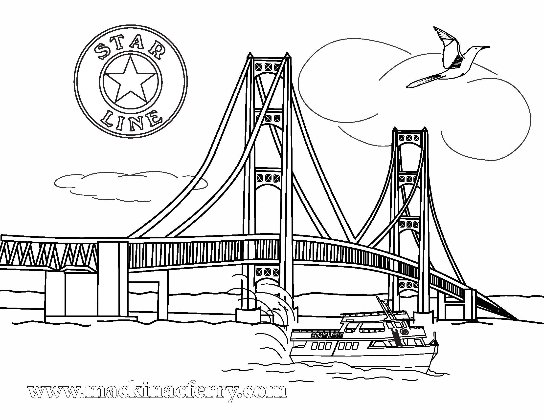 Mackinac Bridge Clipart 20 Free Cliparts