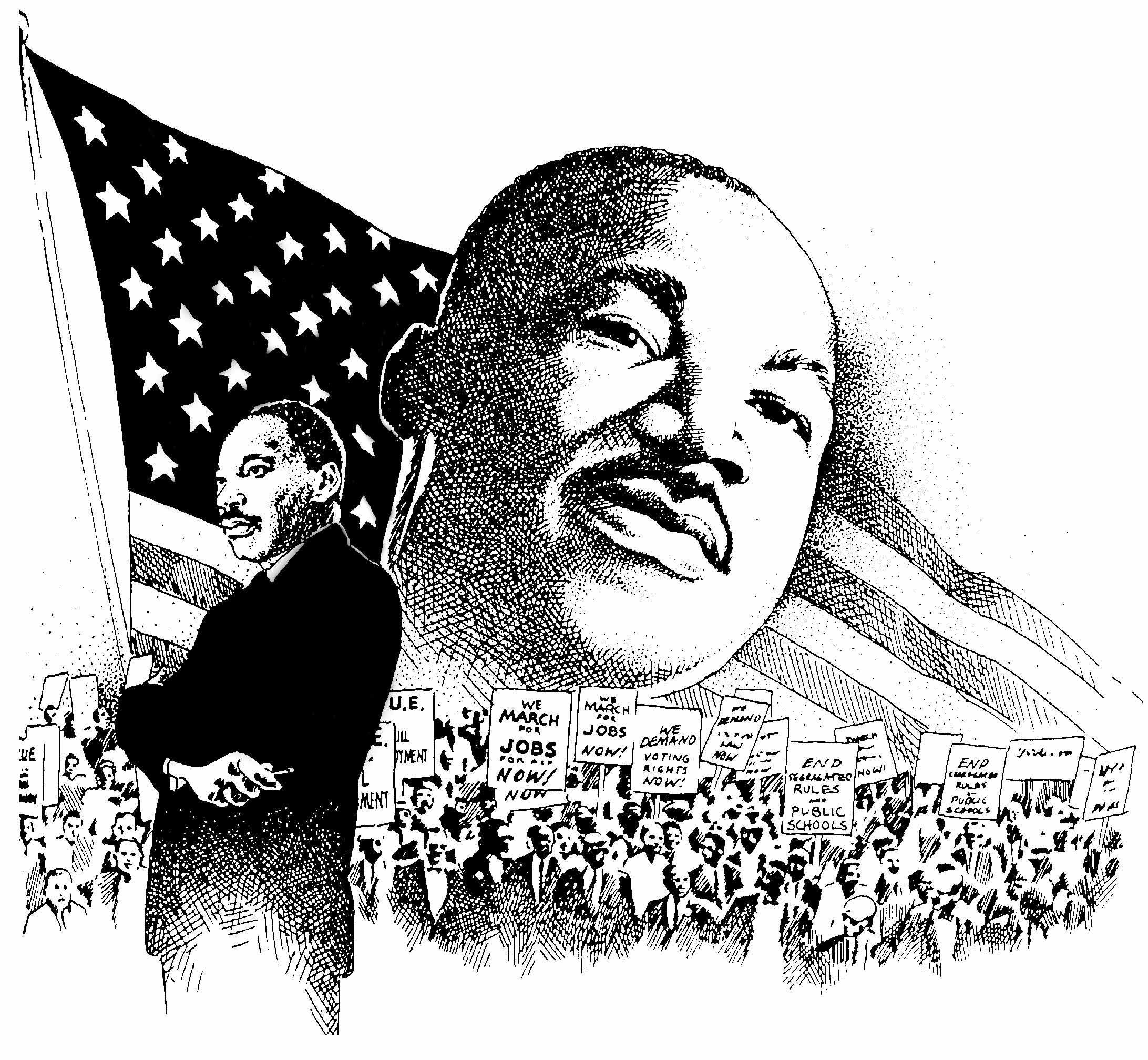 Martin Luther King Clipart 20 Free Cliparts