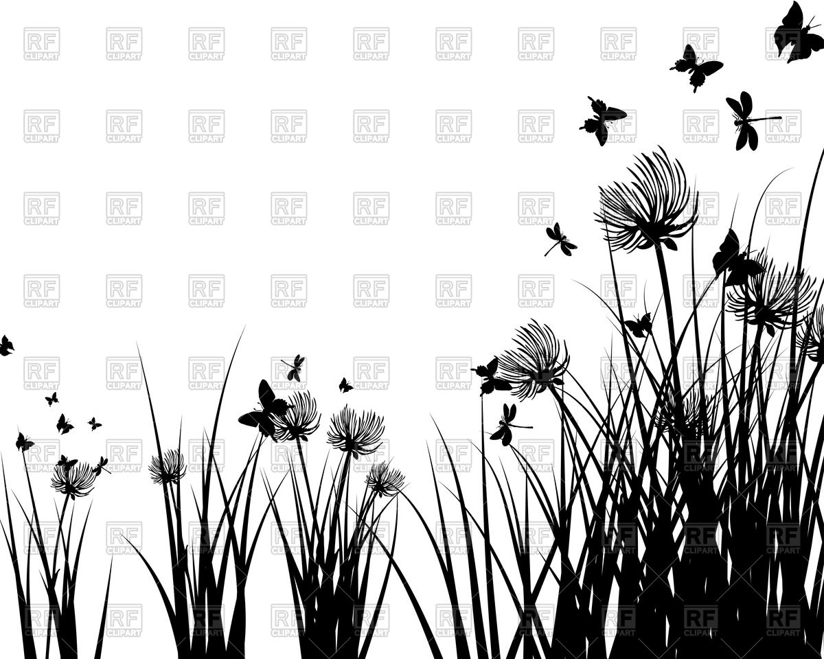 Meadow Plants Clipart