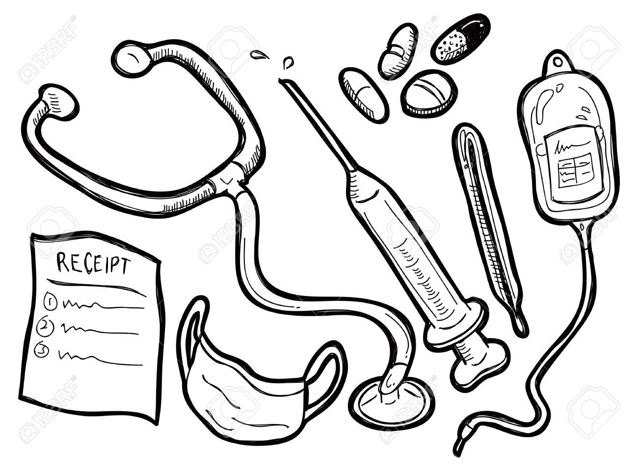 Medical Supplies Clipart