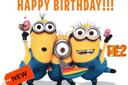 Happy Birthday Funny Minions