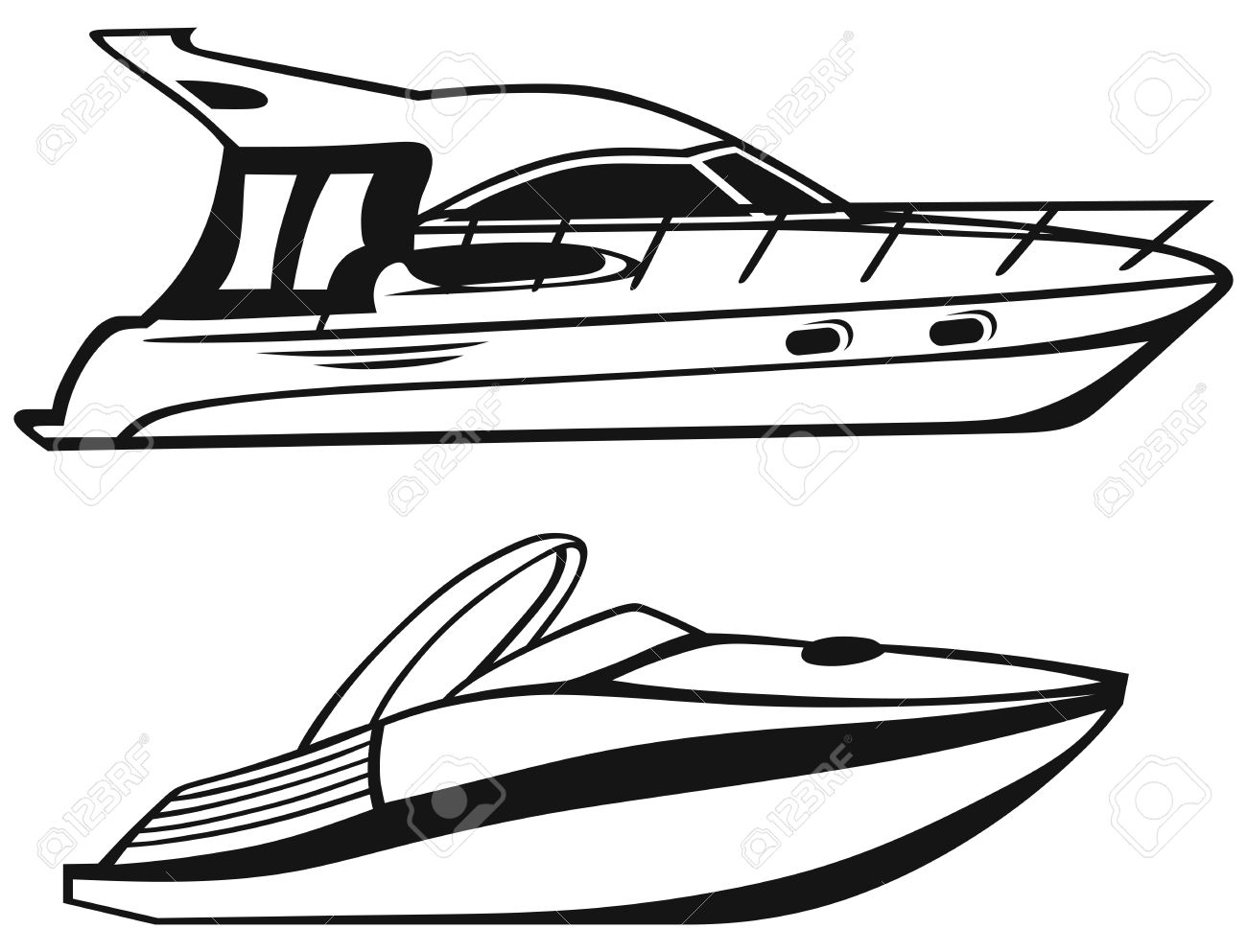 Motor Yacht Clipart 20 Free Cliparts