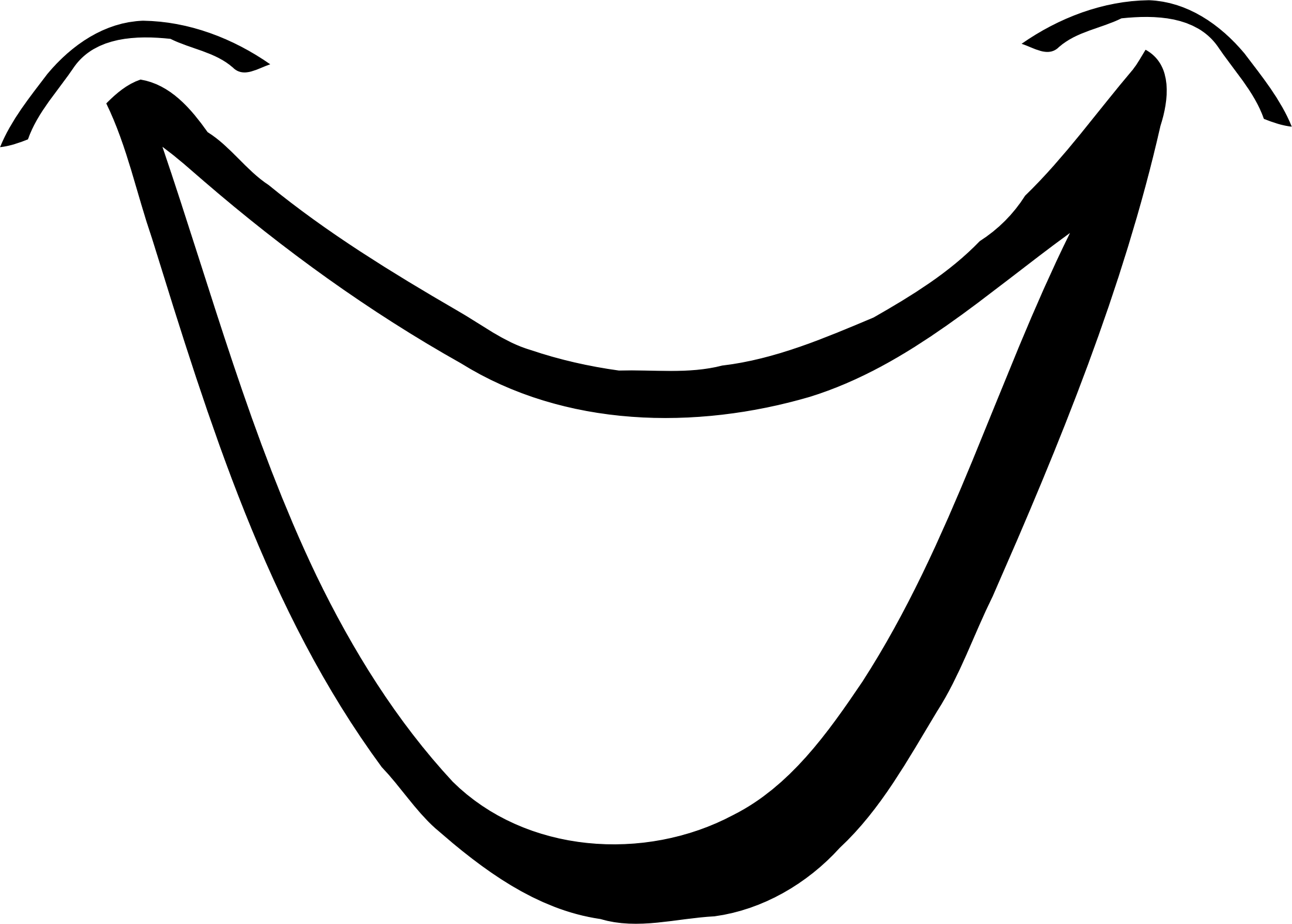 Mouth Black And White Clipart