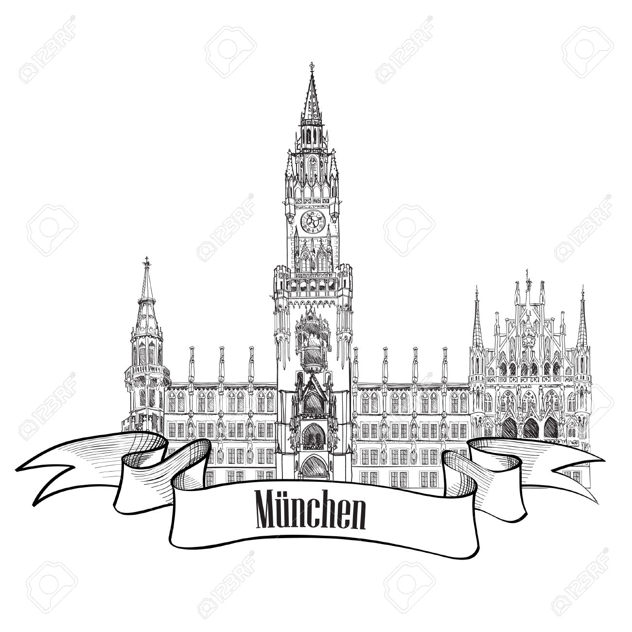 Munich Clipart