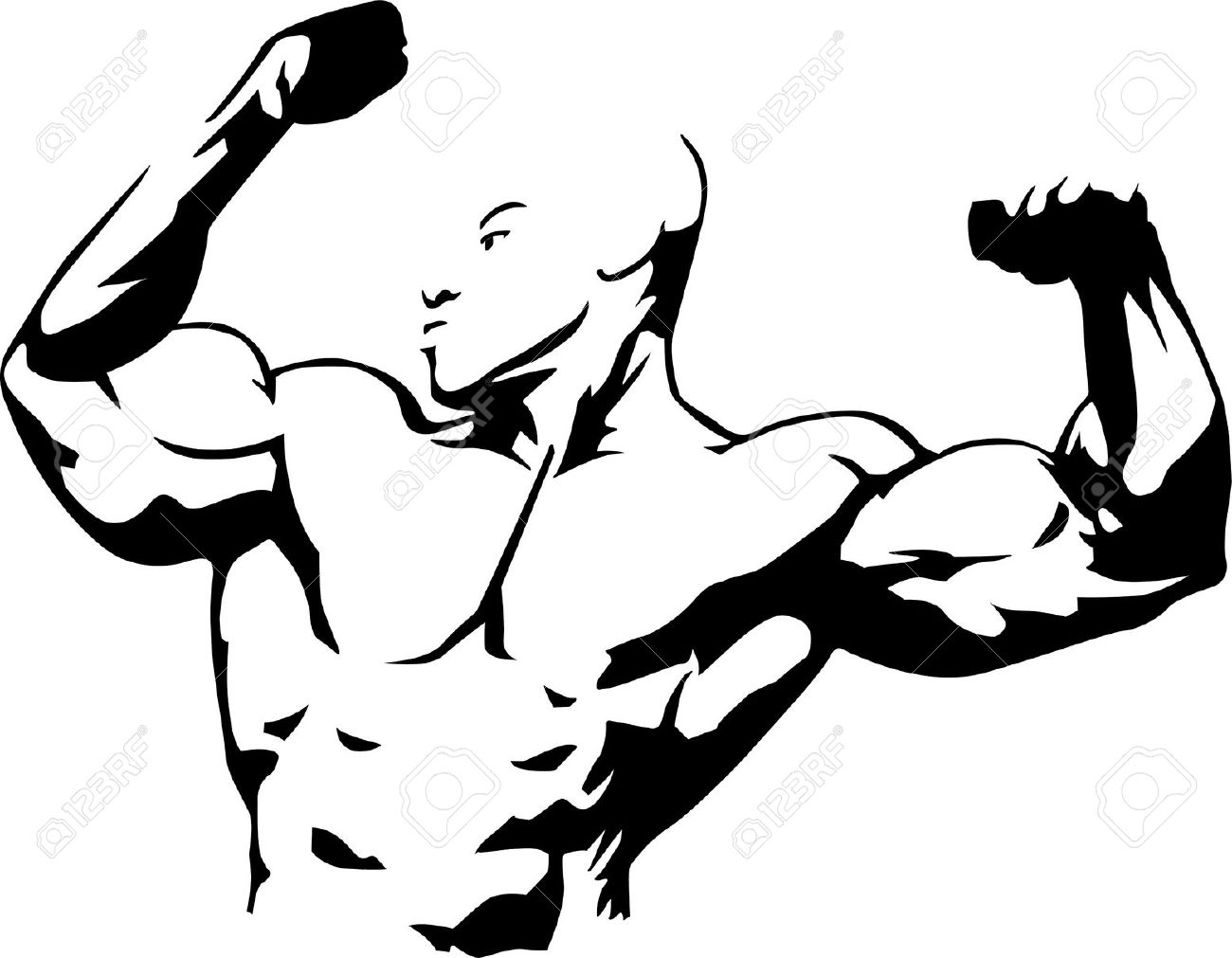 Muscle Building Clipart 20 Free Cliparts