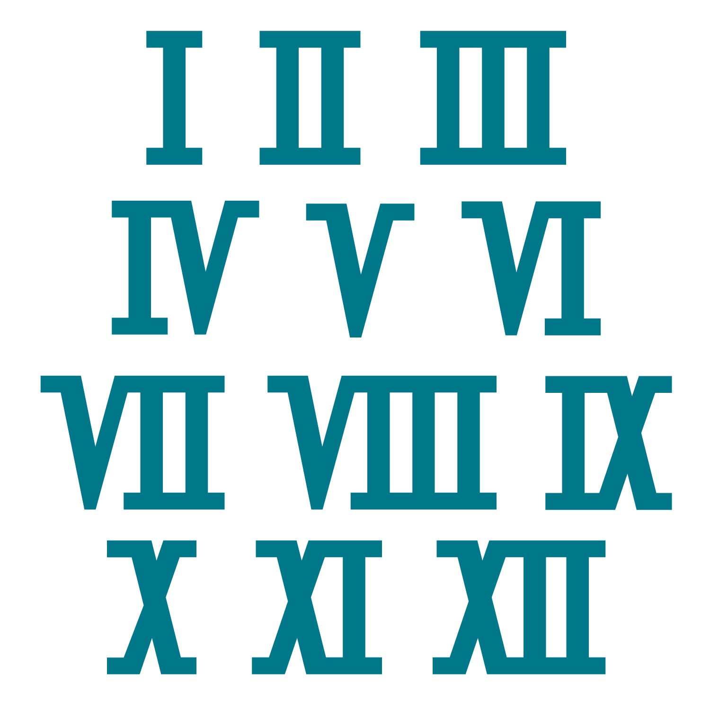 Numerals Clipart