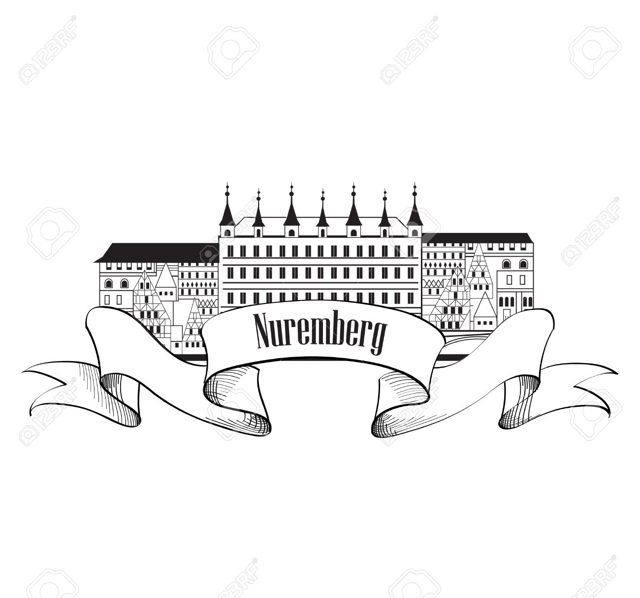 Nuremberg Clipart