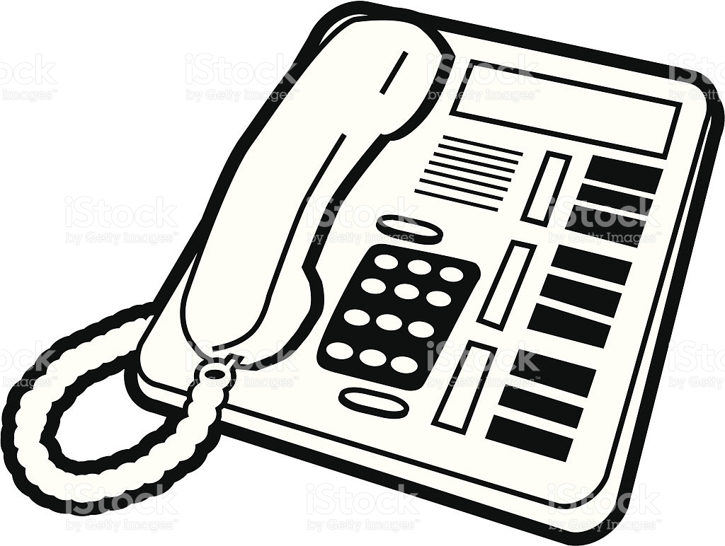 Office Telephone Clipart