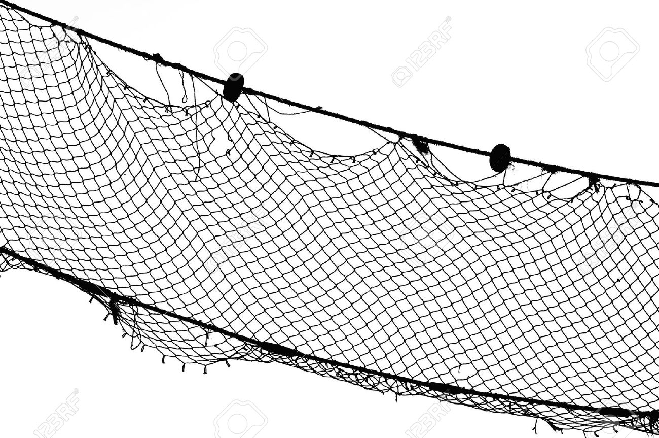 Old Fishing Nets Clipart