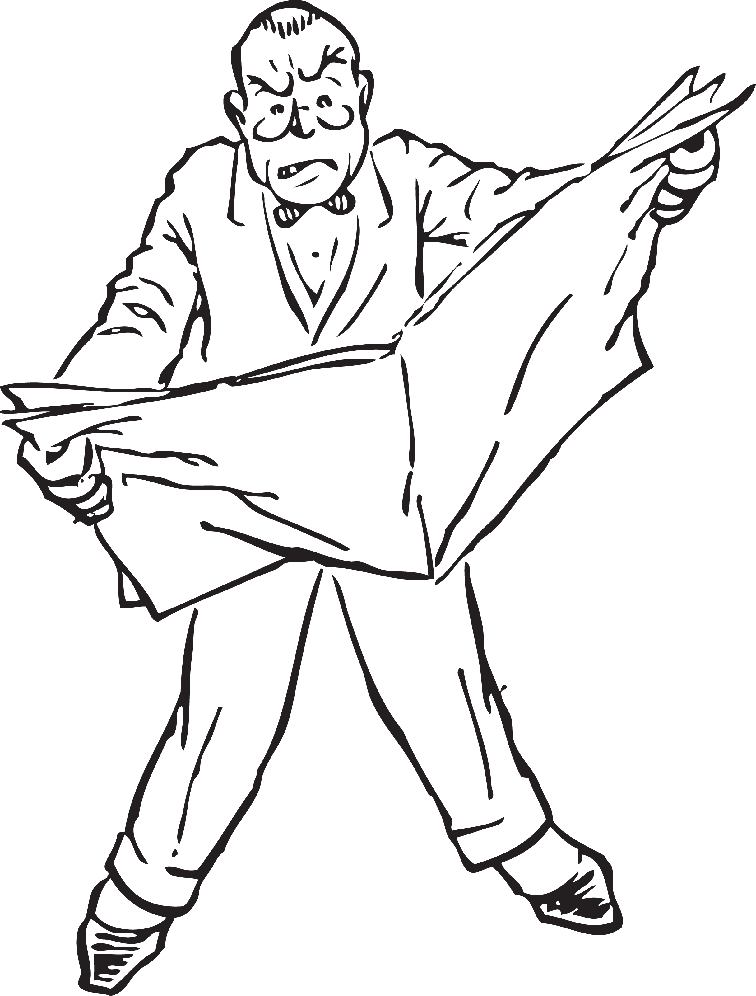 Old Man Reading News Paper Clipart 20 Free Cliparts