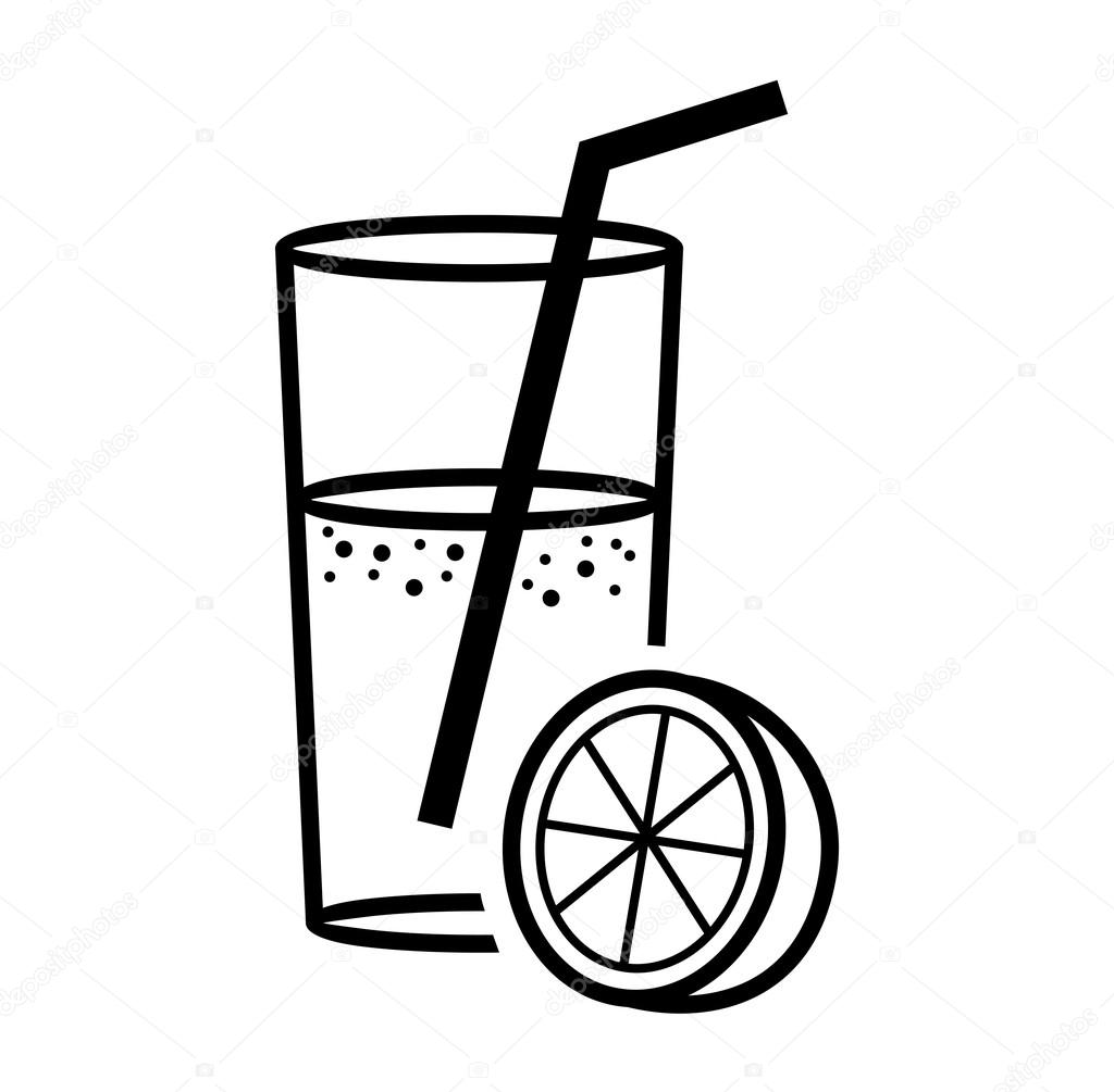 Orange Juice Clipart Black And White 20 Free Cliparts
