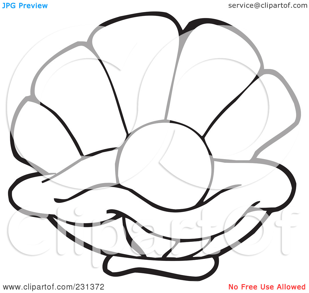 Oyster Colour Clipart