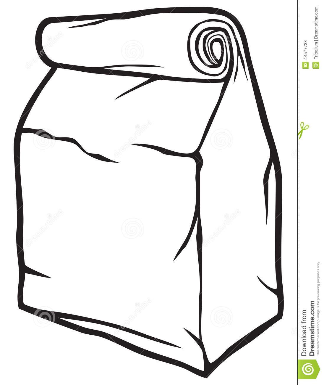 Paper Bags Clipart