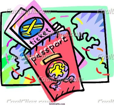 Cartoon Passport Clipart Clipground