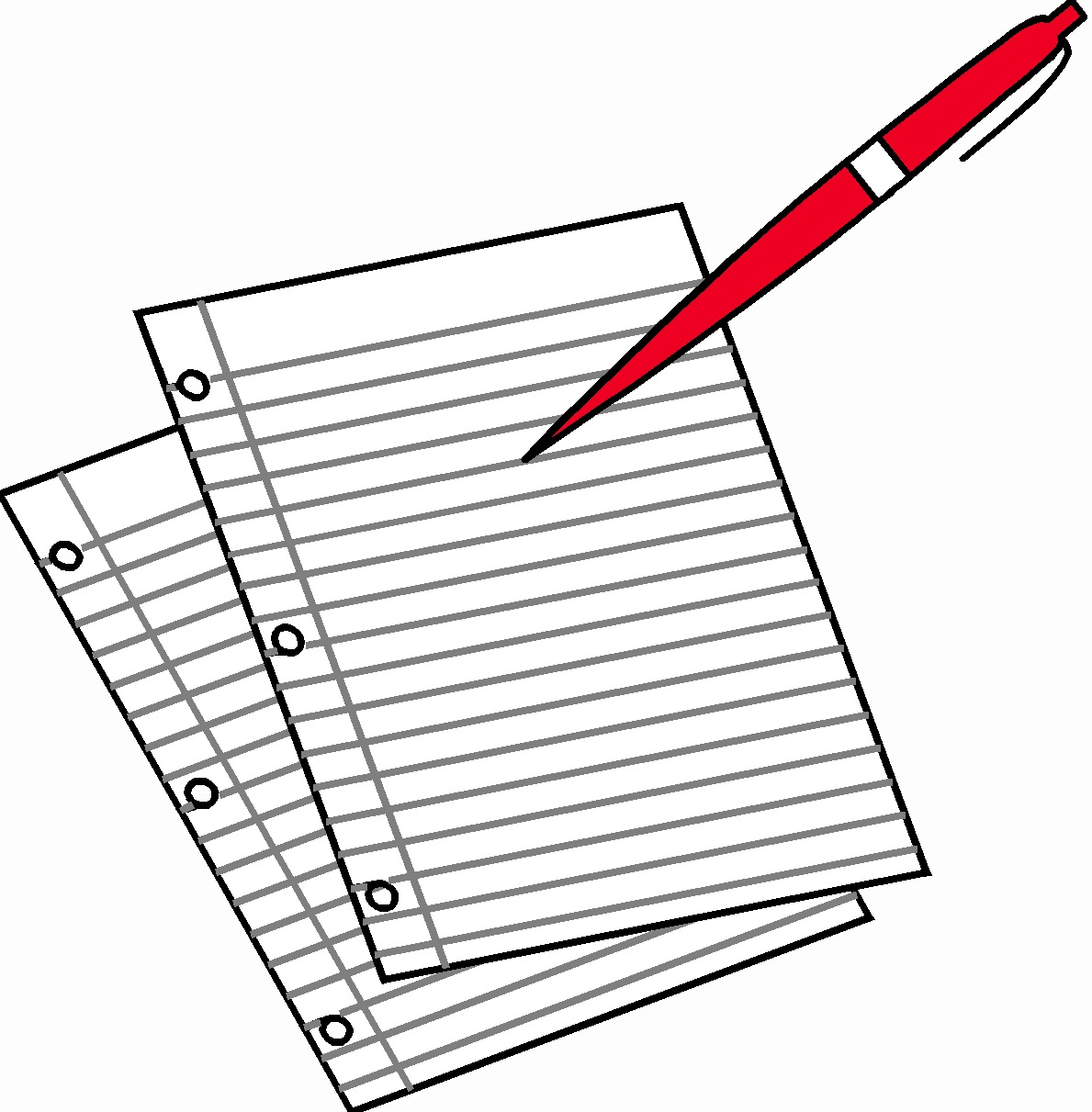 Pen And Paper Writing Clipart 20 Free Cliparts
