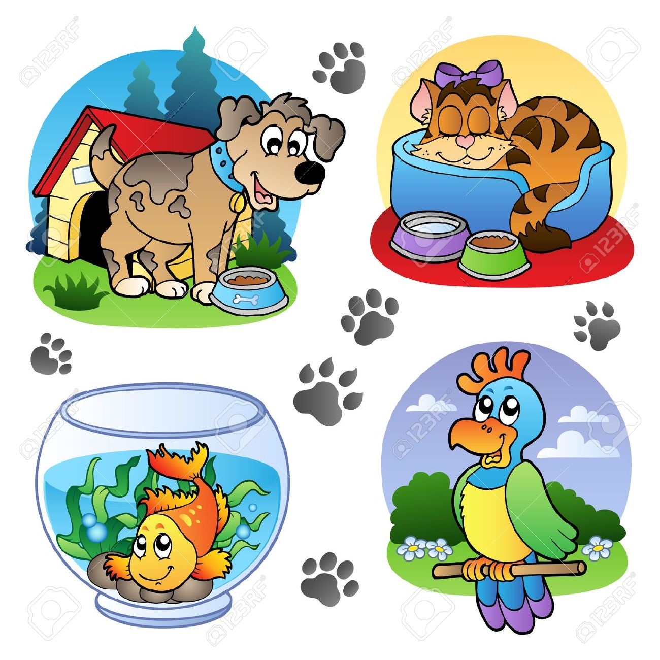 Pet Animal Clipart 20 Free Cliparts