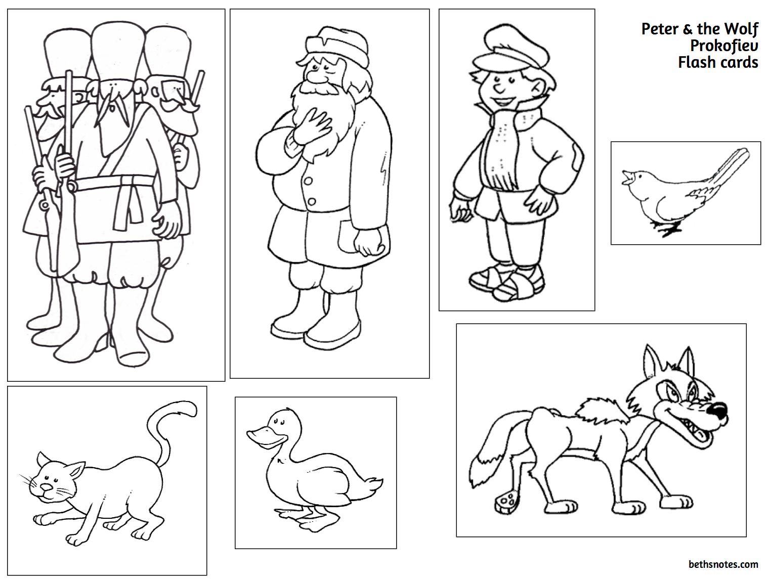 Wolf Puppet Worksheet