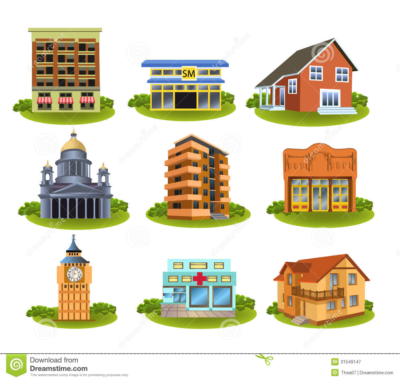 Places Clipart