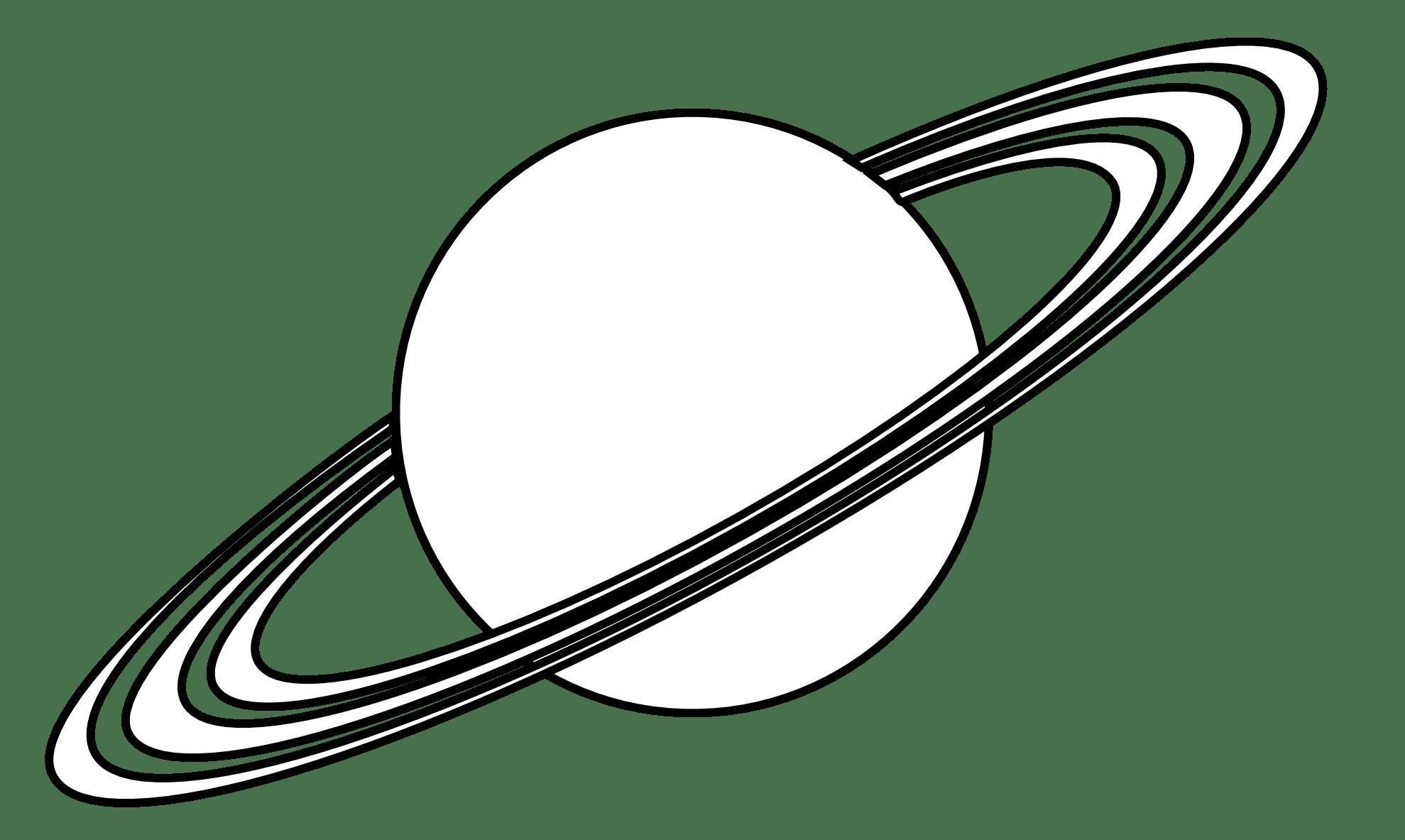 Planet Saturn Clipart