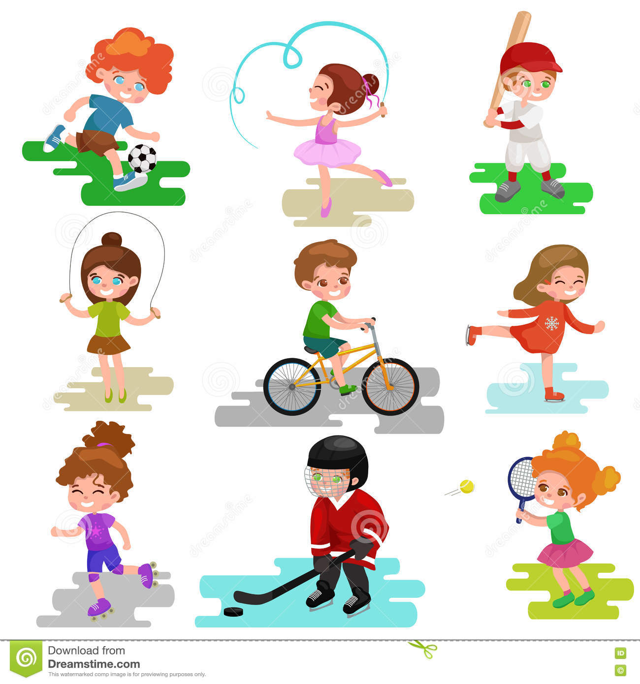 Play An Active Clipart